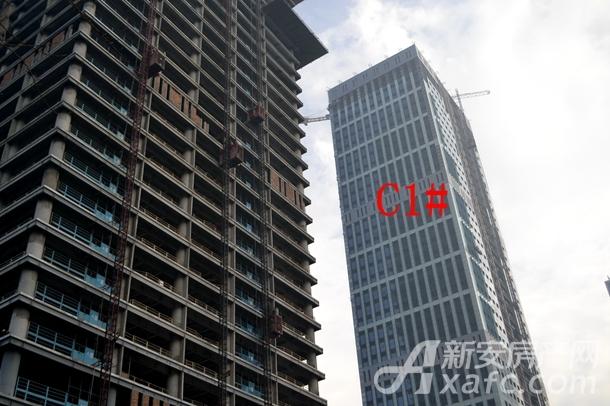 高速滨湖时代广场1月项目进度