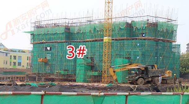 万霖中心城9月工程进度