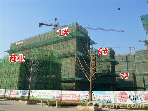 1#、6#、7#工程进度