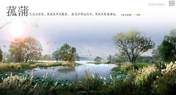 颍州西湖国际级湿地公园效果图
