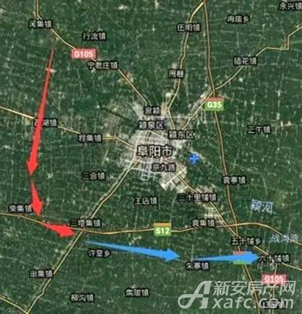 筑势阜阳|阜城西南大外环国庆节全线贯通.jpg