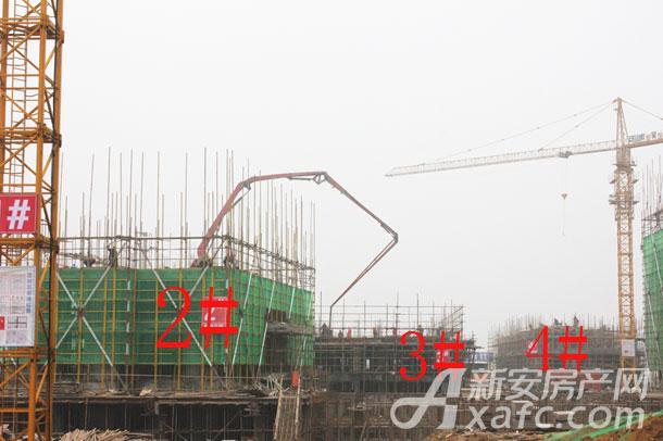 【观湖花园】1月份工程进度:2#建至2层,3#、4#建至1层.jpg