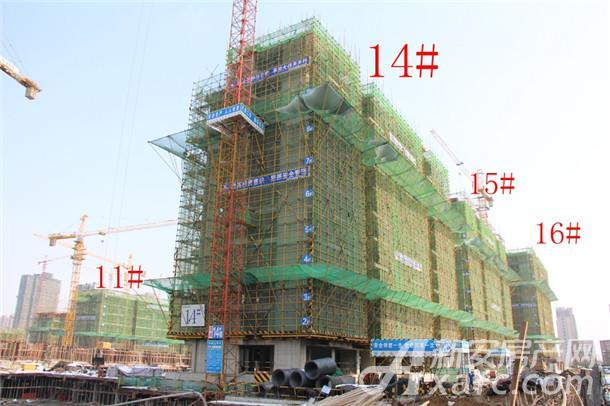 14#、15#和16#工程进度