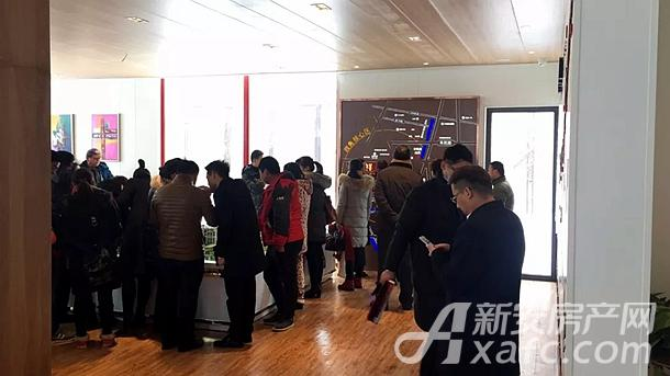 创意展厅|众多客户在了解祥源公园城项目