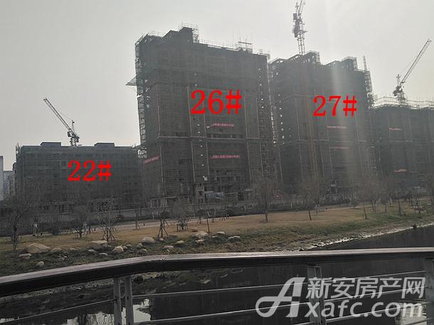 三巽壹號院2月份22#、26#、27#工程进度
