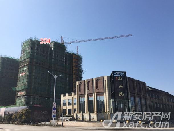 中铁南山院25#楼工程进度