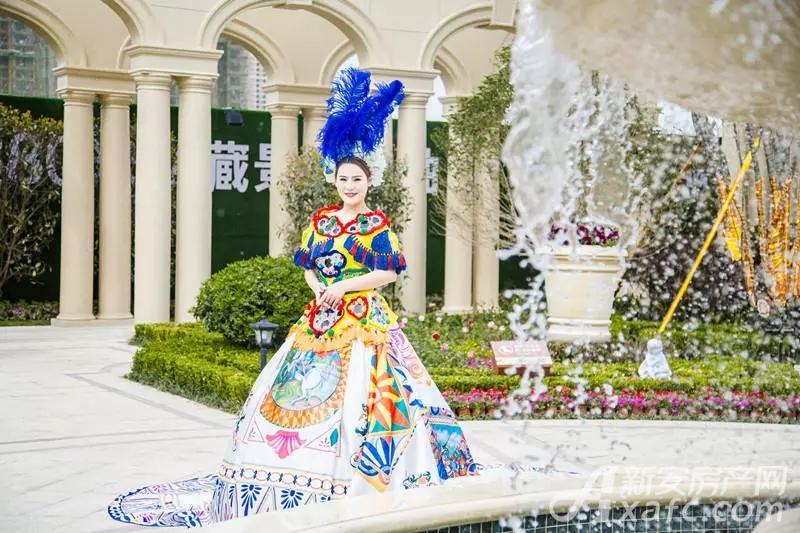 【同昇玫瑰庄园】法式园林景观示范区 盛世开放