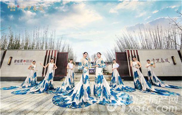 碧桂园新城十里春风示范区实景图