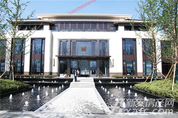 碧桂园新城十里春示范区实景图