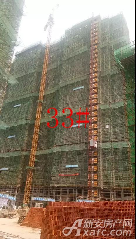 33#内墙砌筑施工