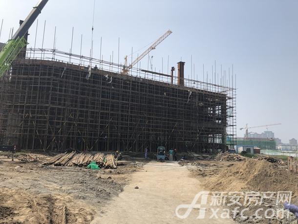 网云小镇8月项目进度