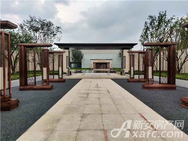 华邦蜀山别院示范区实景图