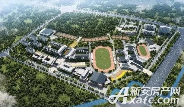 北师大宣城校区规划图