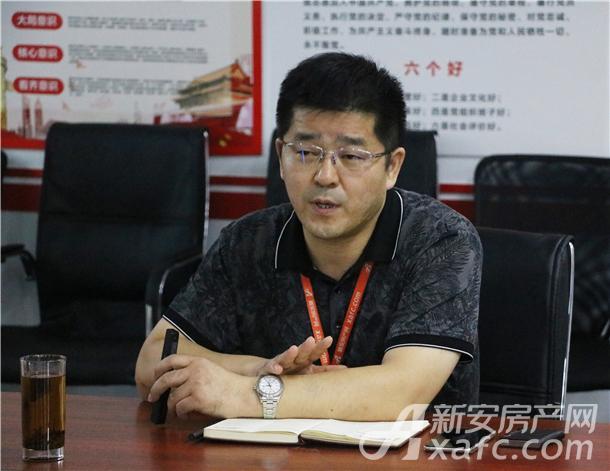新安房产网执行董事李平先生