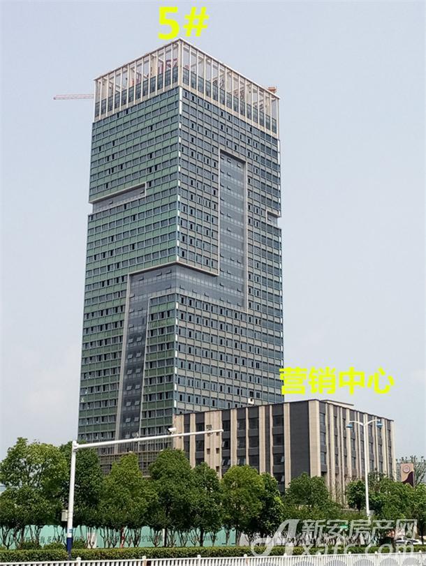 金大地悦澜公馆5#楼和营销中心