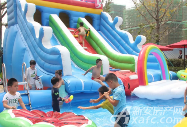 【恒大御景】新营销中心水上乐园