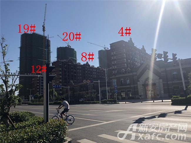 金大地紫金公馆4#、8#、12#、19#、20#楼项目进度