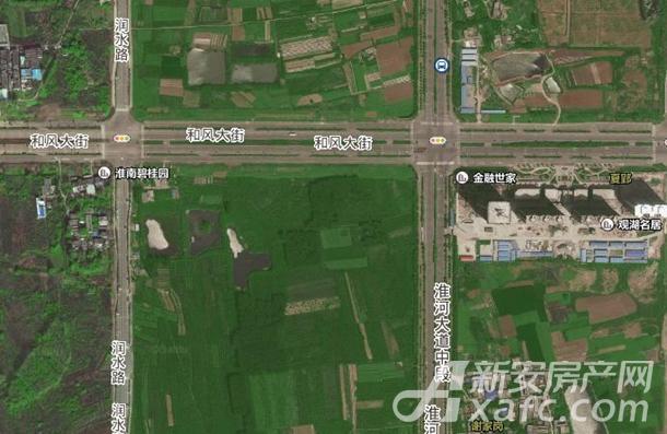 淮南HGTP18038号地块位置