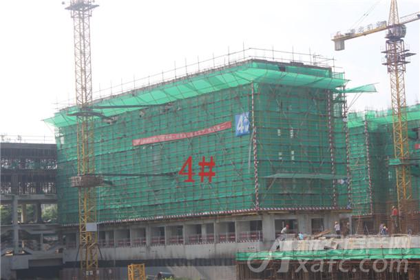 4#现已建至8层实景图