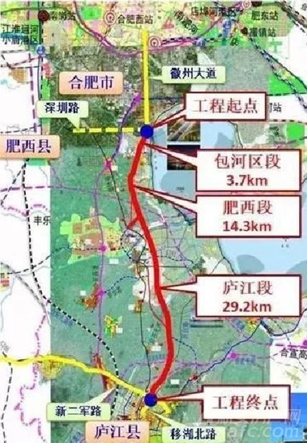 徽州大道施工图