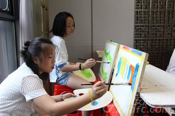 绘画组选手
