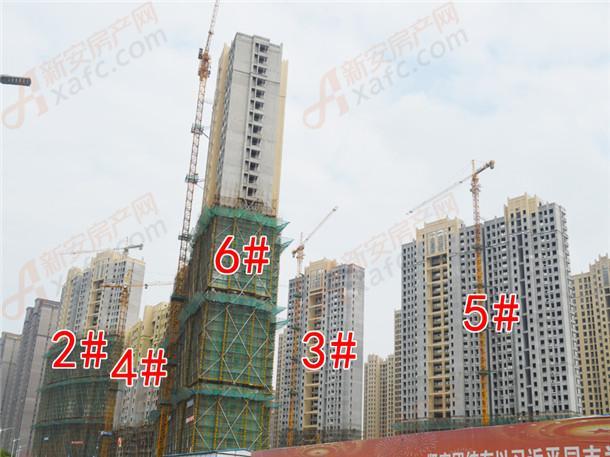 B区2#、4#、6#、3#、5#号楼在建中
