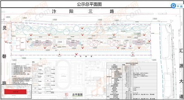 楼市快报 汴河小镇安置区详细规划批前公示 周边居民相关单位: 宿州市图片