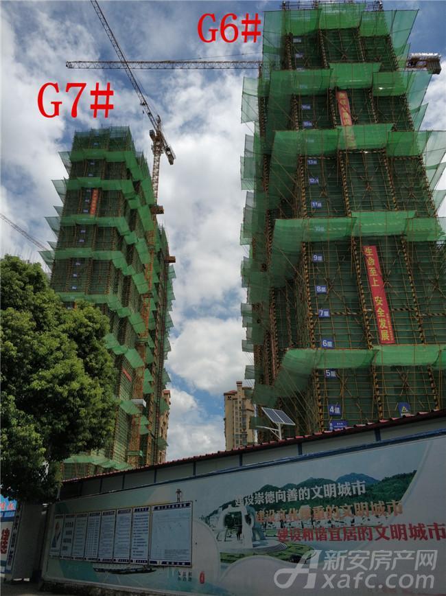 高速铜都天地G6#、G7#楼项目进度