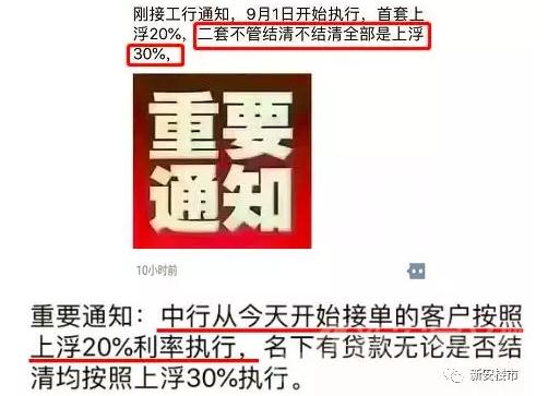 中国银行、工商银行首套房利比值上浮