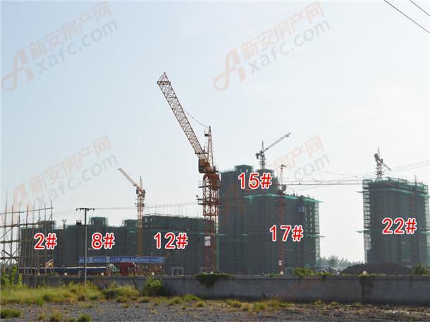 国购名城2#、8#、12#、17#、15#、22#工程进度在建中