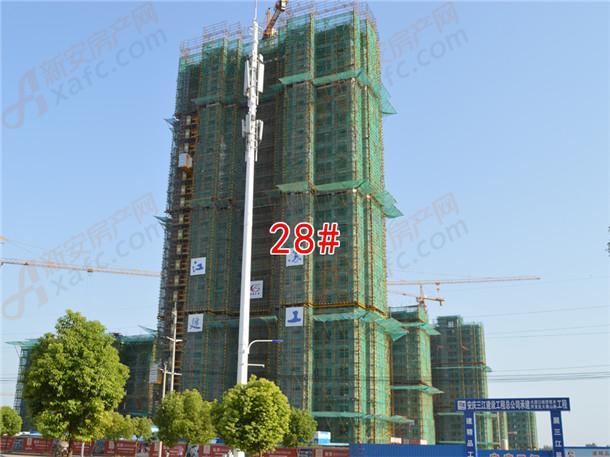 国购名城28#工程进度在建中
