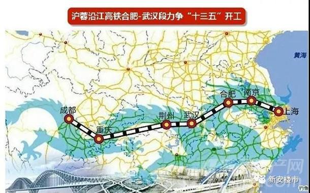 沪蓉沿江高铁