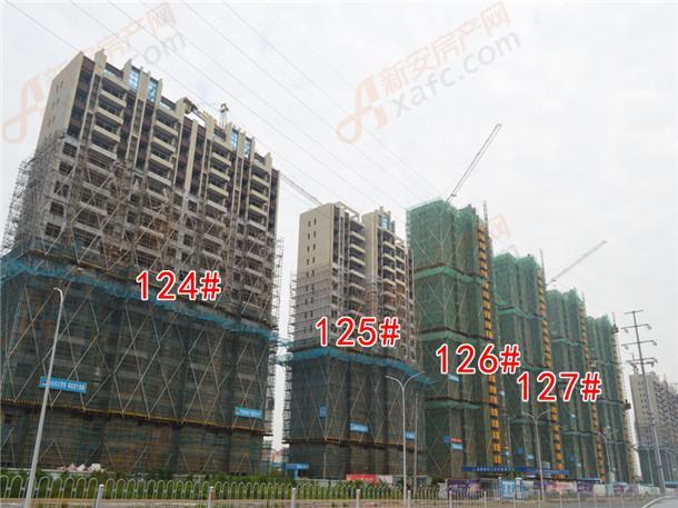 124#、125#、126#、127#、128#楼栋在建中