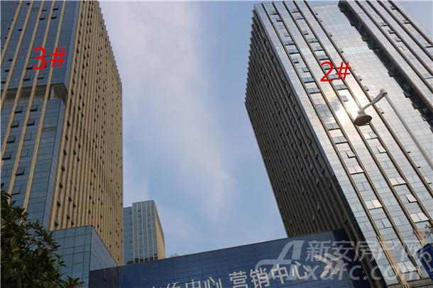 中侨中心9月工程进度
