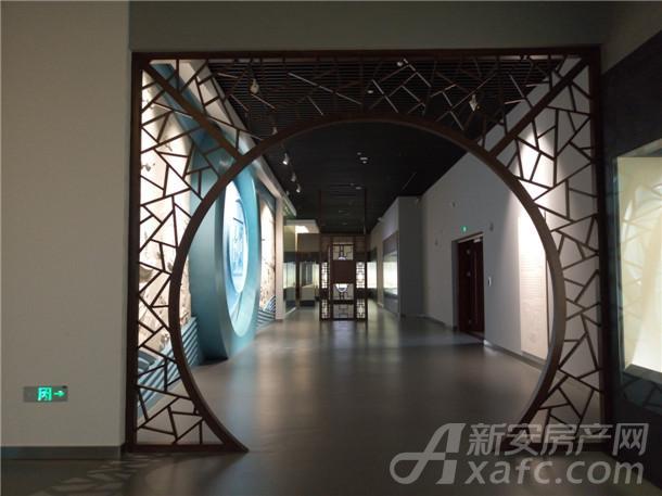 铜陵市博物馆内部实景