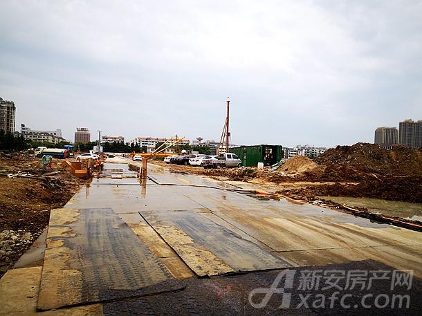 天筑郦城项目地