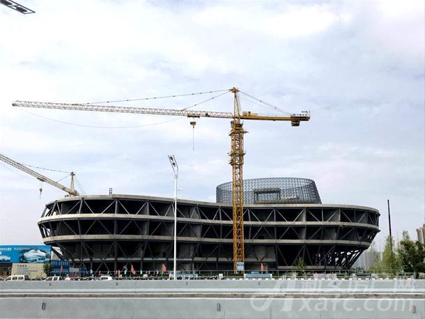 城南新区正在建设的科教文化中心