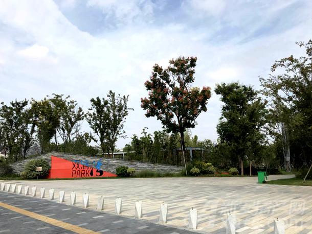 华润新地块北面的双清湾公园