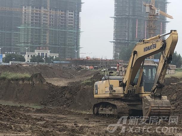 中南漫悦湾9月项目进度