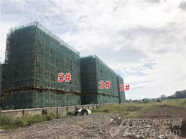 国购名城2#、3#、5#楼已封顶
