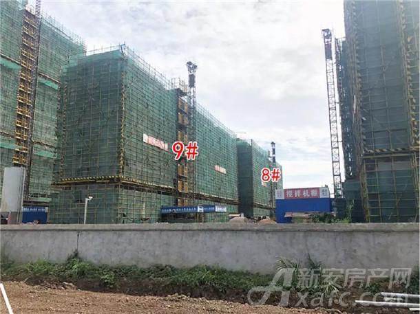 国购名城8#、9#楼已封顶