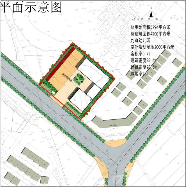 梅林幼儿园地块平面示意图.png
