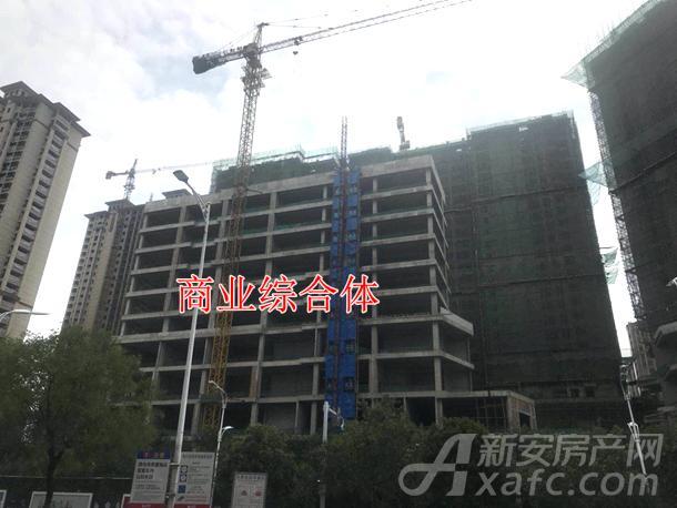 汇鑫摩玛世界沿街商业综合体已封顶