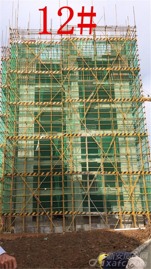 12#主体结构施工至第6层