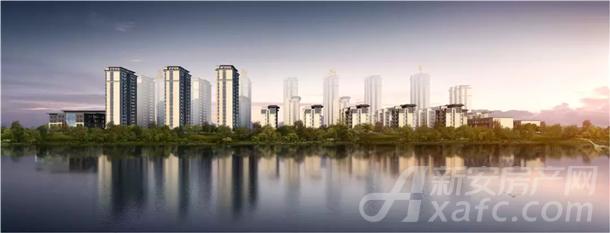 高速滨江首府项目效果图