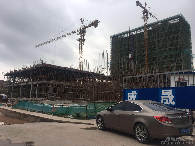 金鼎荣耀城正建设中