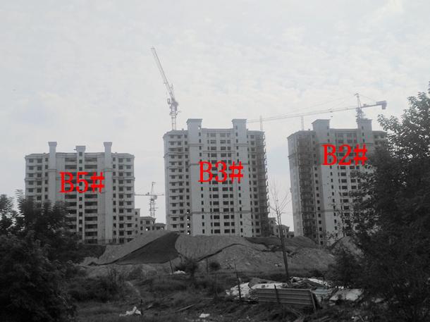 加侨侨城壹号9月份B2#、B3#、B5#项目进度