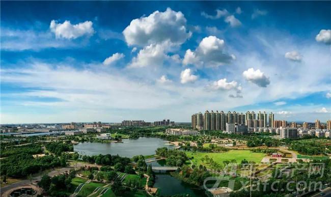 翠湖公园实景图