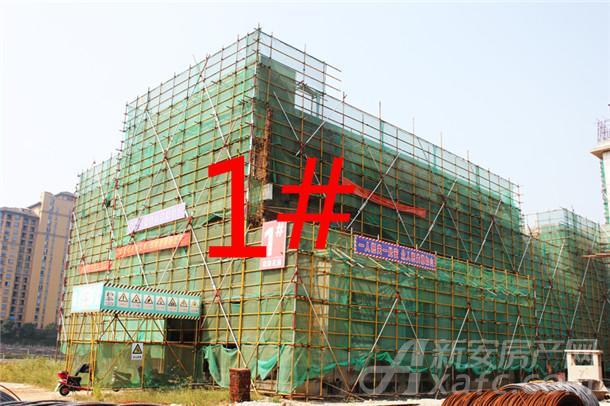 【观湖花园】9月进度:1#幼儿园已封顶