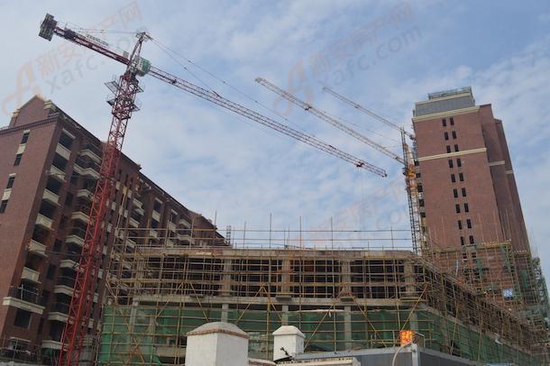 乐富强悦澜湾南区在建楼栋